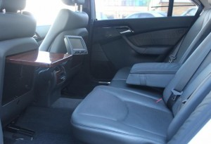 mercedes-benz s-class s500 auto luxury rear seats