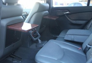 rear picnic tables mercedes s-class s500 for sale at DD Classics