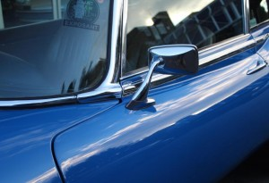 e-type wing mirrors