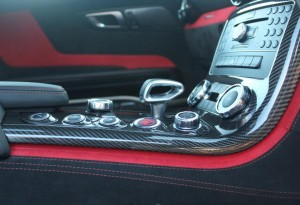 red and black amg black series interior