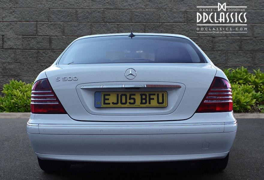 low mileage full service history mercedes s-class