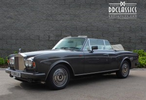 1989 Rolls-Royce Corniche II Parkward Convertible for sale in London (RHD)