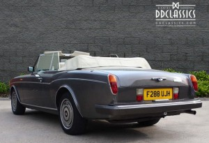 classic car investments rolls-royce convertible