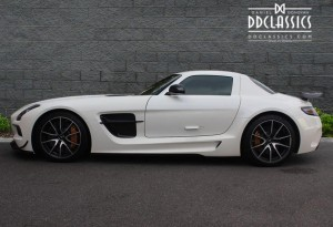 right hand drive mercedes-benz sls amg black series for sale