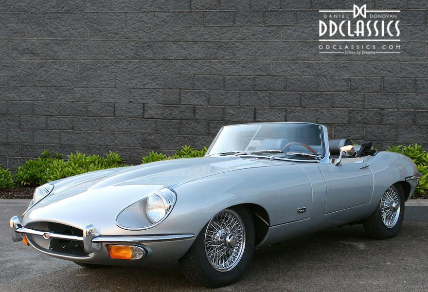 1969 Jaguar E-Type 4.2 Litre Roadster Series 2 for sale in London (LHD)