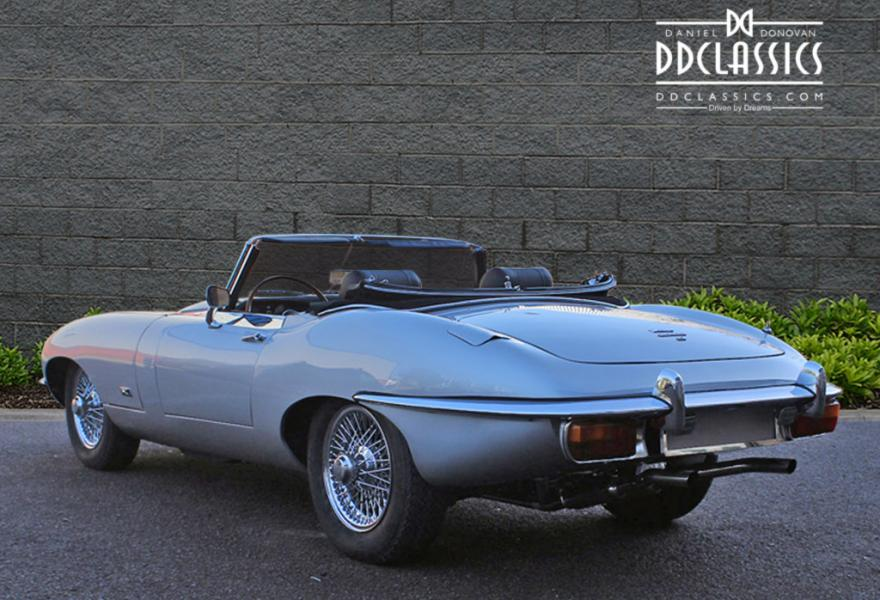 lhd drive jaguar e-type convertible for sale