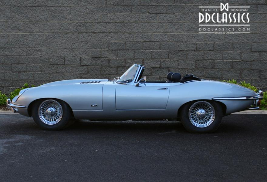 jaguar e-type convertible for sale