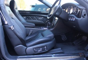 bentley azure interior