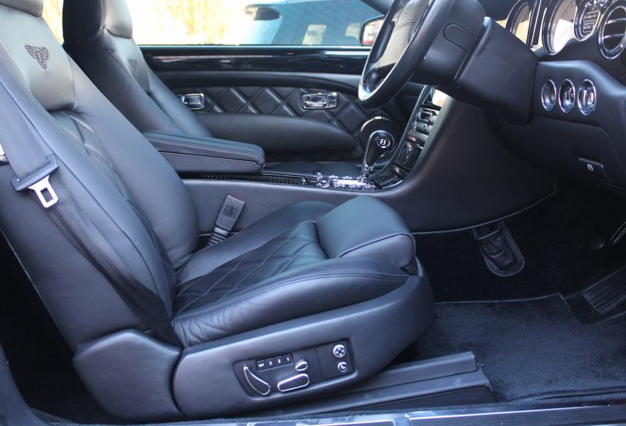 bentley azzure mulliner specification interior