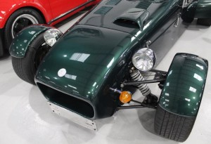 british racing green lotus 7 for sale