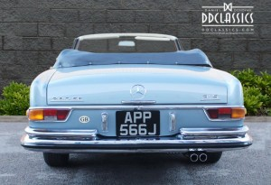 classic mercedes 280 for sale