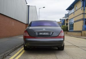 2004 Maybach 62 with division (RHD)