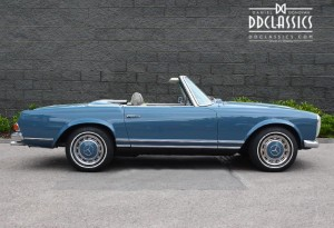 1969 Mercedes 280 SL Pagoda (LHD) for sale in London