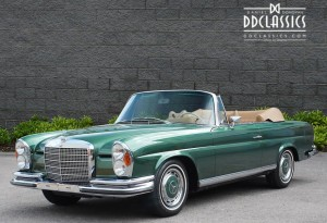 1971 Mercedes 280 SE 3.5 Cabriolet (LHD) for sale in London