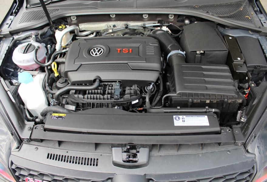 vw golf clubsport s 4 cylinder turbo engine