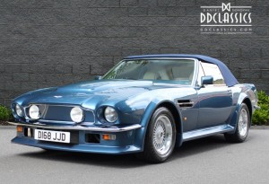 1987 Aston Martin V8 Vantage Volante X-Pack (RHD) for sale in London