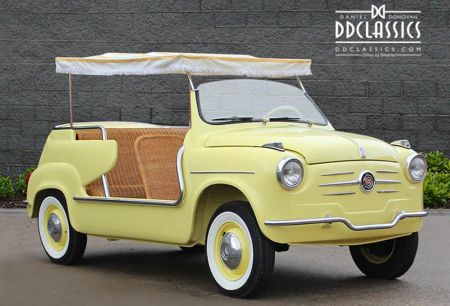 1962 Fiat 600 D Jolly (LHD) for sale in London