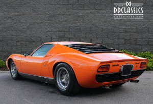 1970 Lamborghini Miura P400S (LHD) for sale in London