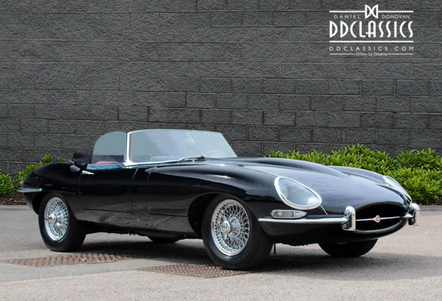 1966 Jaguar Series I 4.2 E Type Roadster (LHD)