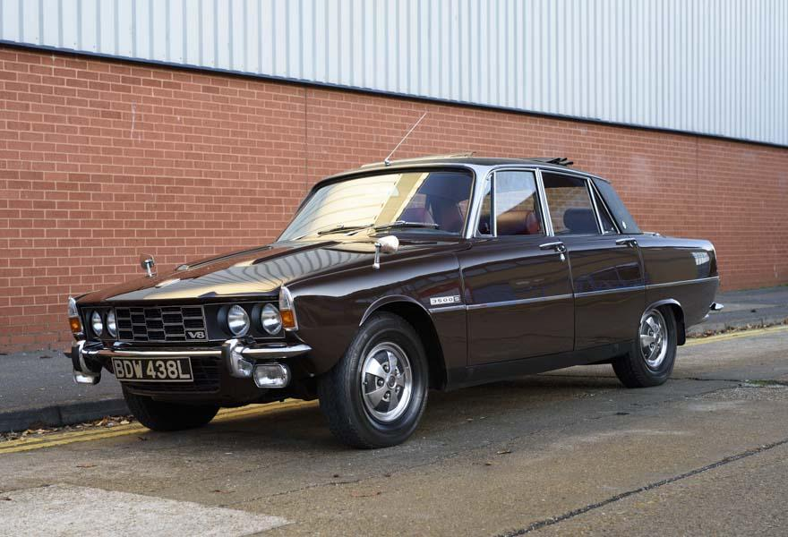 1972 Rover P6 3500 S Manual (RHD)
