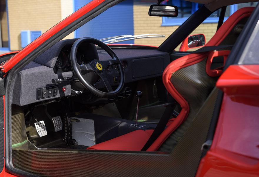 1990 Ferrari F40 Catalyst/Non-Adjust
