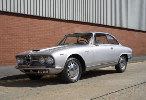 1963 Alfa Romeo 2600 Sprint Coupe By Bertone Turin