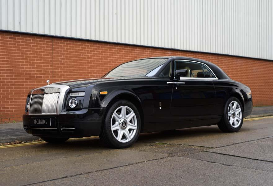 2008 Rolls-Royce Phantom Coupe (LHD)