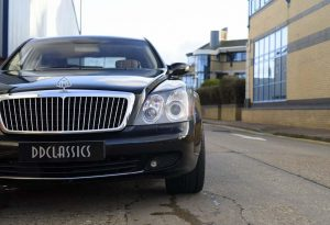 2008 Maybach 57 (LHD)
