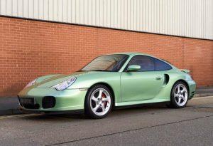 2002 Porsche 911 996 Turbo (RHD)