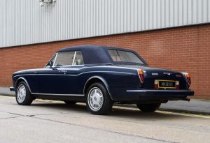 1990 Bentley Continental Convertible (RHD)
