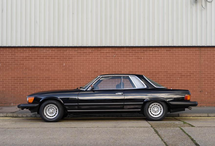 1981 Mercedes Benz 380 SLC (LHD)