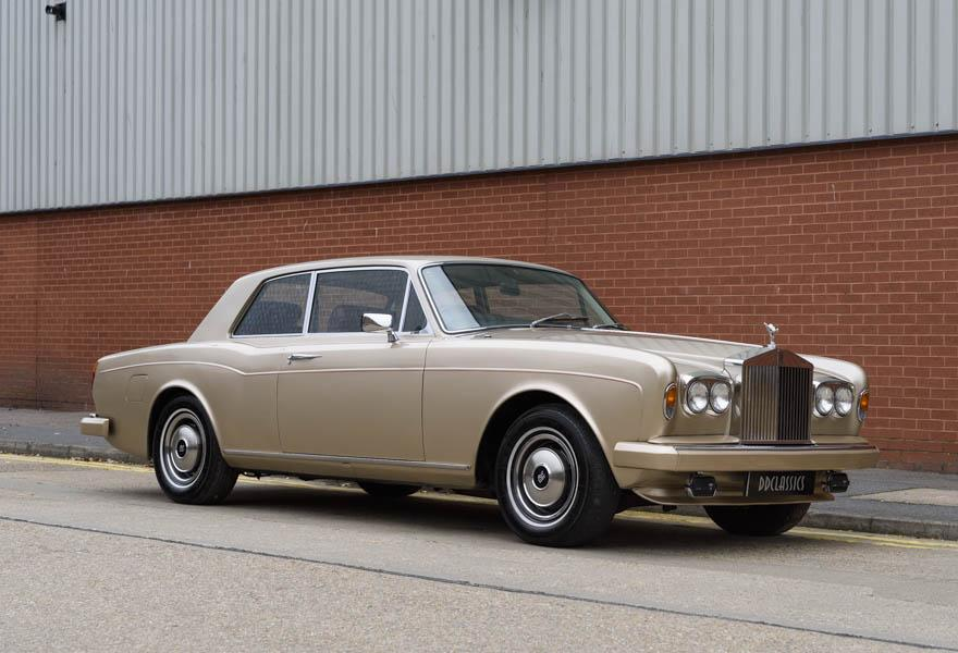1978 Rolls-Royce Corniche Fixed Head Coupe (RHD)